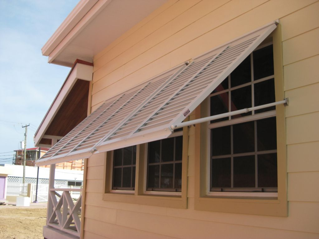 Hurricane Impact-Rated Shutters