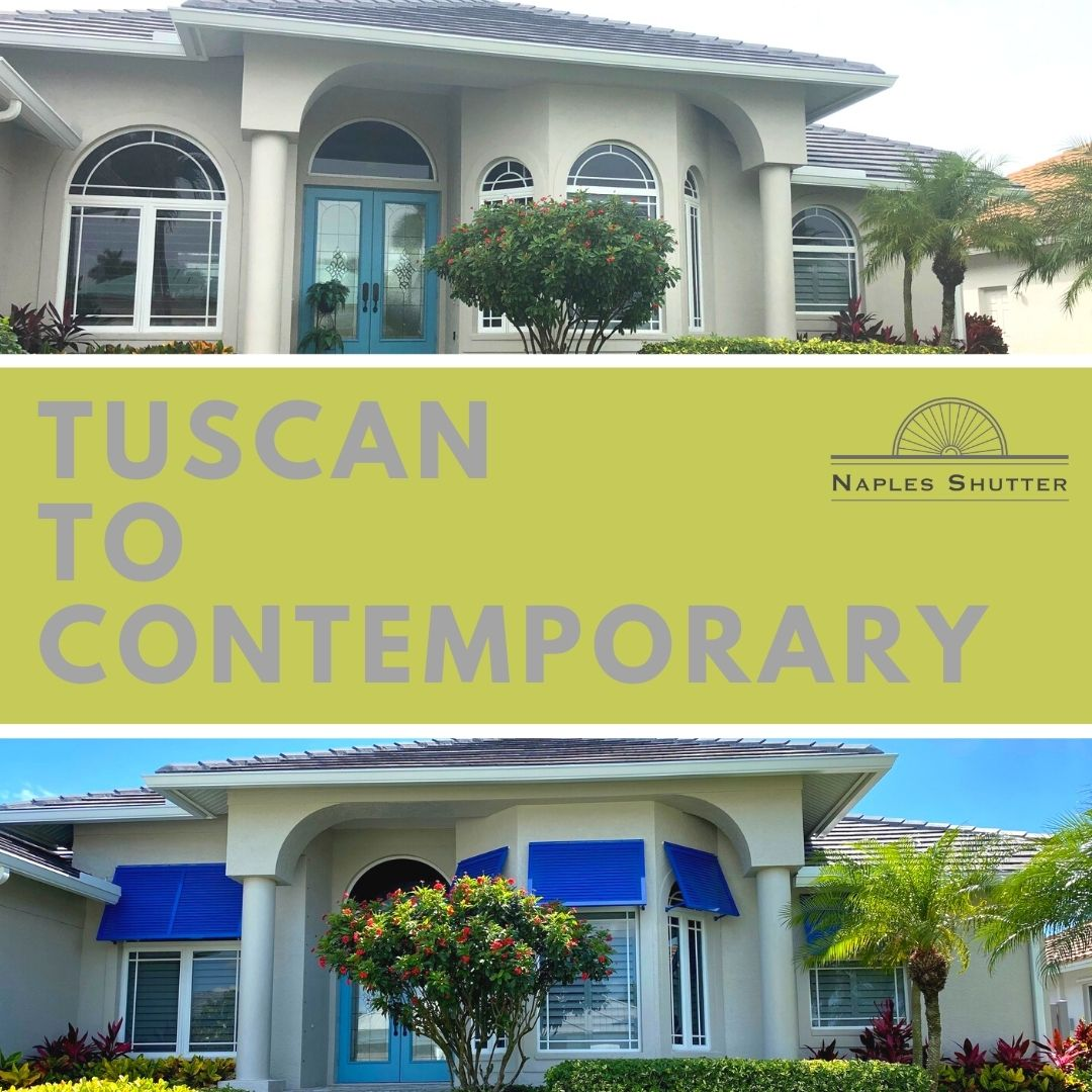 tuscan to contemporary